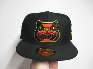 NEW HAMPSHIRE FISHER CATS MINOR LEAGUE NEW ERA (5950) FITTED HAT (7 3/8) NW $38