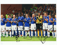 EVERTON - Multi Signed 10x8 Photograph by 7 Players - SPORT - FOOTBALL
