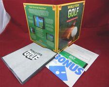 C64:  World Tour Golf - Electronic Arts 1987