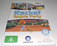 Racket Sports Party Nintendo Wii PAL *Complete* Wii U Compatible