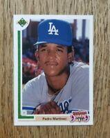 Pedro Martinez 1991 Upper Deck Final Edition #2F Rookie Card - Gem Mint