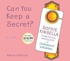 CAN YOU KEEP A SECRET?  -Sophie Kinsella-  ABRIDGED AUDIO CD