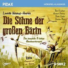 Die Söhne der großen Bärin - Hörspiel (Pidax Klassiker)  mp3-CD/NEU/OVP