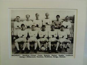 Amateur football team print BROMLEY F.C.
