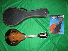 Vintage Kay L 5916 A Style Mandolin with Original Worn Case Made in USA