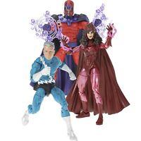 Marvel Legends SP X-Men Magneto Quicksilver Scarlet Witch 3-Pack