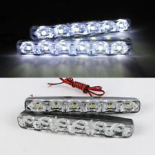 6 LED Daytime Driving Running Light DRL Car Fog Lamp Waterproof White DC 12V
