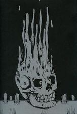 SILVER SKULL HUNTERS F. Mikkelsen Silk Screened Serigraphie Artist's Book 2012