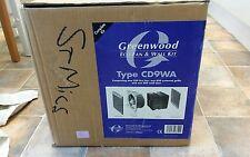 Greenwood Airvac cd9wa Ventilatore Eco e Muro Kit Nuovo