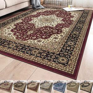Non Slip Living Room Floor Oriental Style Rug Bedroom Traditional Rugs Carpets
