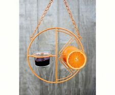 Heath CLEMENTINE ORIOLE FEEDER, Holds Jelly, Fruit, Nectar, or Mealworms
