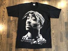 Vintage 2PAC Tupac Shakur THUG LIFE Hip Hop Rap Tee T-Shirt Size 4XL