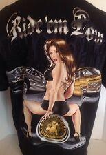 Ride' em Hard (Ride' em Low) Tshirt - Mens 2XL