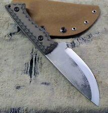 blue wasp knives custom handmade hunting knife blade bushcraft utility