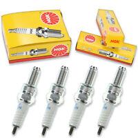 4pcs NGK 7546 Standard CR7EK Motorcycle Spark Plug Tune Up Kit Set nu