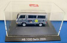 Herpa 1/87 Non Paper Box MB 100D Berlin 2000