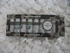 VAL70128 Modèle Couleur Ensemble - Panzer Aces Numéro 5 (x8) vallejo peinture