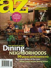 AZ 11/11,10 Best Dining Neighborhoods,November 2011,NEW