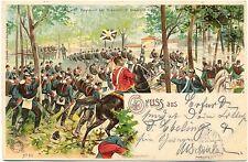 Regiment 60 u. 67 bei Gravelot, 1902