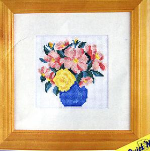 Vase of Flowers – Semco easy counted cross-stitch kit