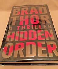Brad Thor - Hidden Order - Author SIGNED - HC With DJ - 2013