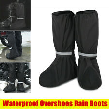 Motorcycle Biker Overshoes Rain Boot Shoes Footwear Cover Waterproof S/M/L/XL
