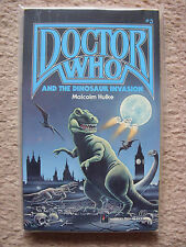 'Doctor Who and the Dinosaur Invasion' by Malcolm Hulke - US Pinnacle Pb - Mint