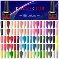 T-TIAO CLUB 56 Colors 6ml Gel Nail Polish Soak Off Manicure Varnish UV/LED Lamp