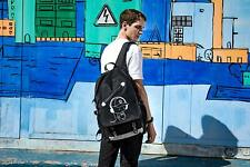 School Backpacks Laptop Cute Bookbags Cool College Canvas, Black, Size No Size