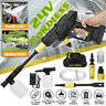 24V Battery Cordless High Pressure Washer Spray Gun Washing Cleaner +5M Hose