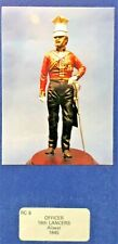 1/16 120MM RESIN FIGURE THE ROLL CALL OFFICER 16TH LANCERS ALIWAL. 1845. NEW.