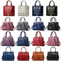 Women Lady Leather Handbag Shoulder Bag Crossbody Satchel Messenger Purse Tote
