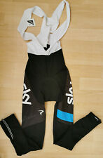 Sky Team Rapha Replica BNWT Fleece Cycling Bib Pants Bike Tights Padded Size M