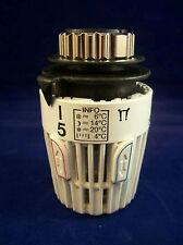 Heimeier Thermostat-Kopf weiß mit eingebautem Fühler Typ K Standard 6000-00.500