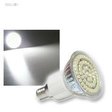 E14 Foco LED Bombilla con 60 SMD LEDs blanco frío, E 14 Lámpara Bombilla Spot