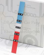 ORIGINAL MERCEDES Aufkleber Heizungsregler Wählrad W107 W124 W126 W201 Symbol