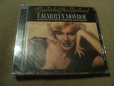 "CD NEUF ""LES LEGENDES D'HOLLYWOOD - MARILYN MONROE"" best of 20 titres"