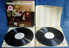 THEMES LIKE OLD TIMES - 180 ORIG. RADIO THEMES - (2) LP SET + INSERT - VIVA WLP