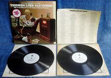 THEMES LIKE OLD TIMES - 180 ORIG. RADIO THEMES - (2) LP SET + INSERT - VIVA WLP