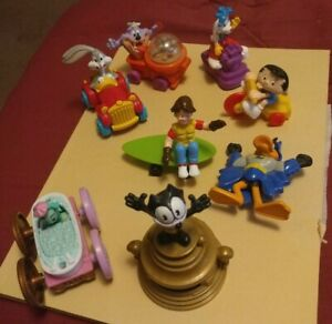 McDonald's & Burger King Happy Meal Toys (Warner Brothers, etc )Lot of 8