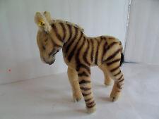 Steiff zebra mohair button Germany 2246