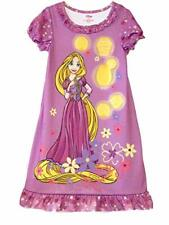 Tangled Rapunzel Purple Floral Nightgown, Gown Size 5/6