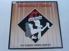JACK HARRISON - Harmonica & Clarinet - 1988 RARE OZ LP