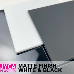 Matte Black & White Acrylic Perspex Sheet 【Up to 20% OFF】【BEST Price】FREE POST