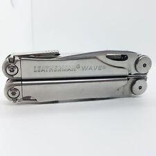 LEATHERMAN WAVE MULTI TOOL PLIERS KNIFE W/ SAW SCISSORS 831846 BB