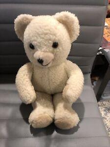 "vintage Snuggle Bear Plush Lever Brothers Russ Berrie 15"" Stuffed Animal EUC"