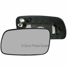 Left Passenger Side HEATED WING DOOR MIRROR GLASS Toyota Avensis 2003-06 Clip On