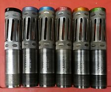 6 Briley Perazzi 18.7 Helix Color Spectrum Ported Choke Tube Stainless Set