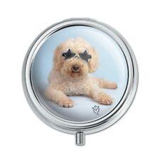 Soft-Coated Wheaten Terrier Starry Eyed Sunglasses Pill Case Trinket Gift Box