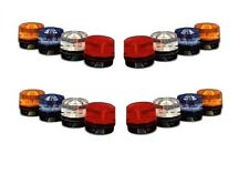 Single Security System Alarm Outdoor Weatherproof Strobe Light BLUE RED OR CLEAR